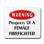 New female firefighter personalized design! Choose from female firefighter t-shirts and sweats, personalized tote bags, gift clocks and mugs. Great gift ideas for your female firefighter!