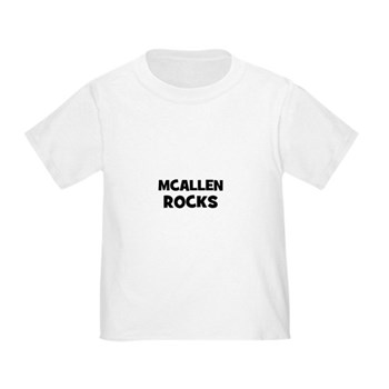 McAllen Rocks Toddler T-Shirt
