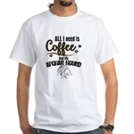 All I need is Coffee and my Afghanhound T-Shirt