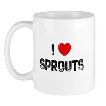 I Love Sprouts Mug