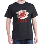 Paper Cut Year of The Monkey 2016 T-Shirt