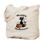 Black Cat Candy Tote Bag for trick or treat fun! Great for shopping, home or office! Click to see our Halloween tote bags.....
