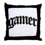 Throw this pillow on the floor in front of the TV, or prop it up on the couch, perfect thing to have when you're ready to game and don't want a sore butt.