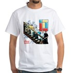 The Brady Bunch: Staircase Image White T-Shirt