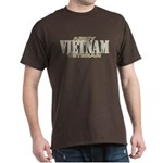 VIETNAM WAR ARMY VETERAN! Dark T-Shirt