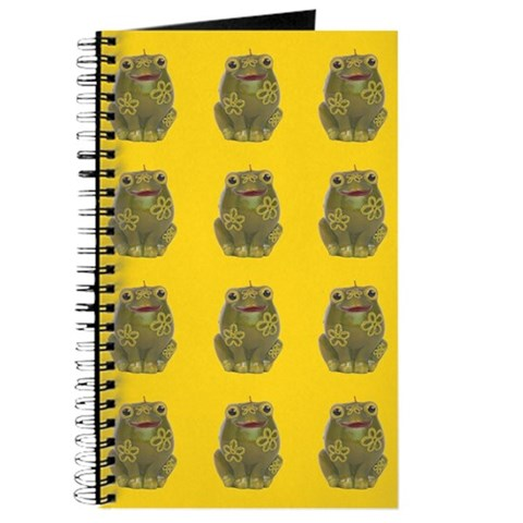 Vintage Toy Frog Art Vintage Journal by CafePress