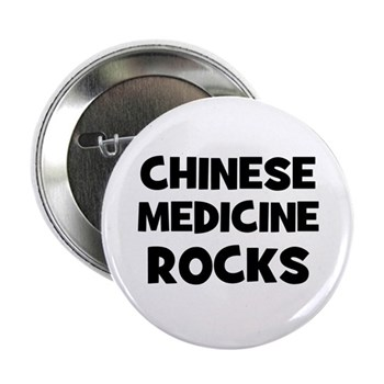 Chinese Medicine Rocks Button