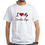 I Love My Carolina Dogs T-Shirt