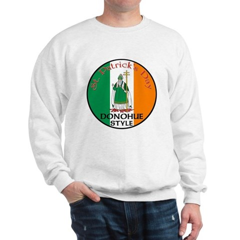 Product Image of Donohue, St. Patrick's Day Sweatshirt
