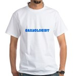 Garbologist Blue Bold Design T-Shirt