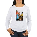 Day of the Dead Altar with Ske Long Sleeve T-Shirt