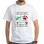 Meowy Christmas And A Happy Mew Year T-Shirt