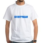 Dustman Blue Bold Design T-Shirt