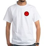 Small Front/red Back T-Shirt (men)