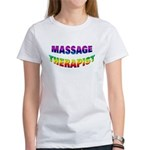 Rainbow Massage Therapist T-shirt