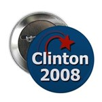 10 Clinton 2008 Star Campaign Buttons
