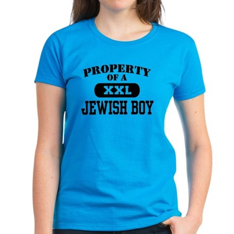 Property of a Jewish Boy Women's Dark T-Shirt