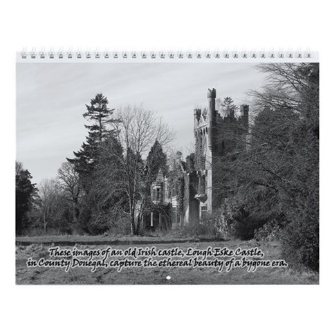 - Old Irish Castle Photography Wall Calendar by CafePress
