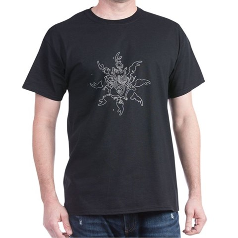 Product Image of Ganesh Graphic Dark T-Shirt