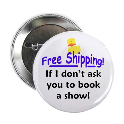 2.25 Booking Button 10 pack Party 2.25 Button 10 pack by CafePress