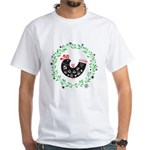 Folk Art Christmas Bird T-Shirt