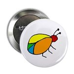 Peace Bug Button