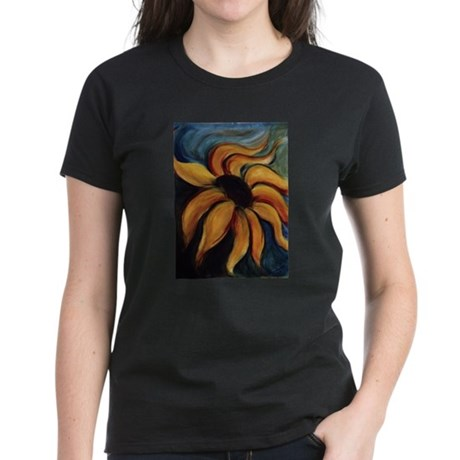 Acrylic Paintings Womens Dark T Shirt by CafePress.com 175010030