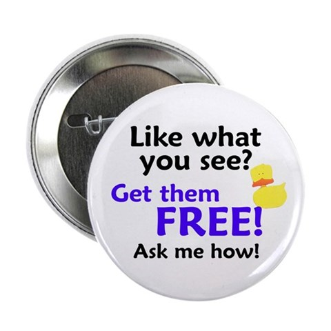 2.25 Get Them Free Button 10 pack Party 2.25 Button 10 pack by CafePress