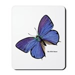 Blue Butterfly Mousepad
