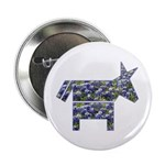 Texas Blue Donkey Button