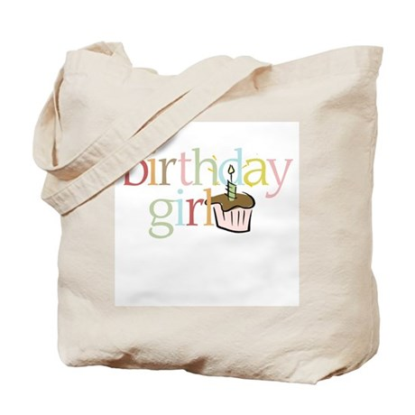 BDay Girl Cupcake - Tote Bag