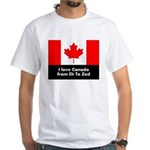 I love Canada from Eh to Zed T-Shirt