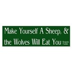 Make Yourself a Sheep (bumper sticker)