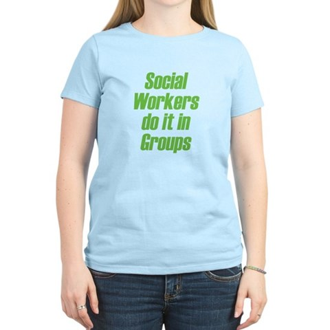 Product Image of Social Workers Women's Light T-Shirt