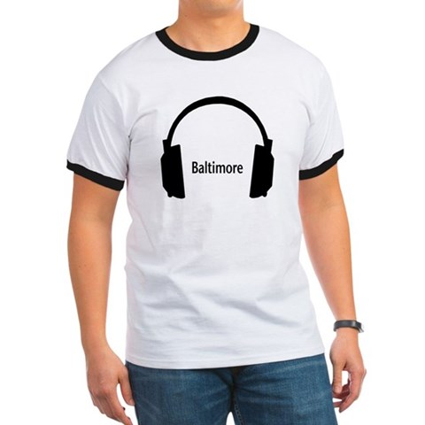 - Baltimore Baltimore Ringer T by CafePress