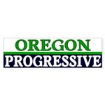 Oregon Progressive Bumper Sticker