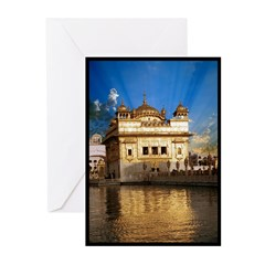 Golden Temple Greeting Cards (Pk of 10)