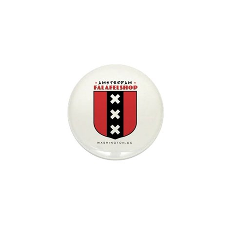 - full logo with words. Washington dc Mini Button by CafePress