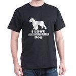 I Love Black Russian Terrier Dog T-Shirt