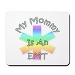 My Mommy Is An EMT mouse pad, matching baby gifts, apparel and bibs available at Bonfire Designs.