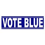 Vote Blue (bumper sticker)