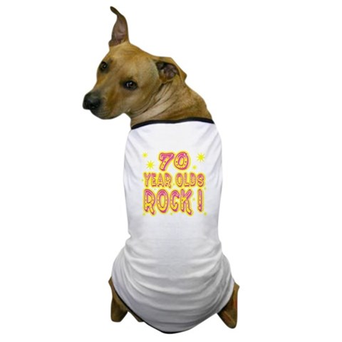 70 Year Olds Rock   Baby Dog T-Shirt by CafePress