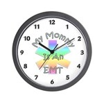 EMT Mommy Wall Clock