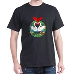 merry christmas swans T-Shirt
