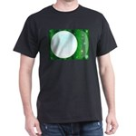 Green Christmas And New Year Background T-Shirt