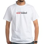 Americas Next Most Wanted White T-Shirt