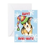 Holiday Pembroke Welsh Corgi