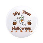 "My First Halloween 3.5"" Button"