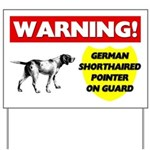 German Shorthaired Pointer Yard Sign