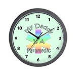 Paramedic Daddy Wall Clock